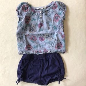 Adorable toddler girl Summer outfit 2T